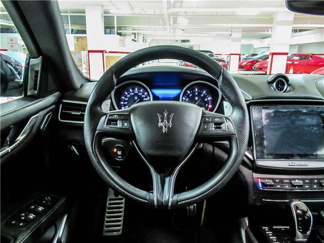 2017 Maserati Ghibli S Q4 (Stk: U4266) in Vaughan - Image 14 of 26