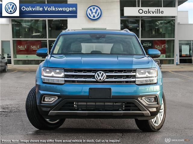 2019 Volkswagen Atlas 3.6 FSI Execline (Stk: 21408) in Oakville - Image 2 of 10