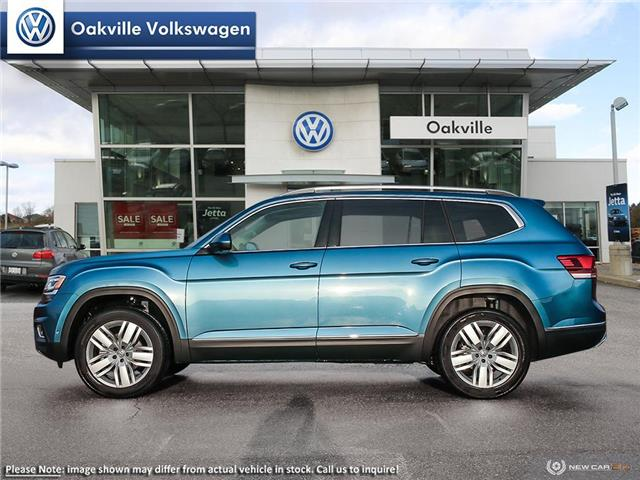 2019 Volkswagen Atlas 3.6 FSI Execline (Stk: 21408) in Oakville - Image 3 of 10