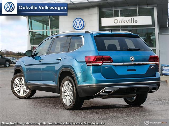 2019 Volkswagen Atlas 3.6 FSI Execline (Stk: 21408) in Oakville - Image 4 of 10