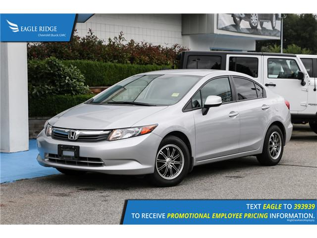 2012 Honda Civic LX (Stk: 121450) in Coquitlam - Image 1 of 13