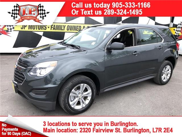 2017 Chevrolet Equinox LS (Stk: 46961) in Burlington - Image 1 of 24