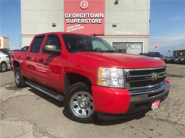 2011 Chevrolet Silverado 1500 LS | CREW CAB | 6 PASS | 4.8L V8 | HOT RED | (Stk: P12124) in Georgetown - Image 2 of 24