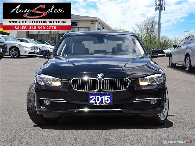 2015 BMW 320i xDrive (Stk: 1AZM212) in Scarborough - Image 2 of 28
