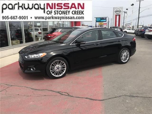 2016 Ford Fusion SE (Stk: N19294AA) in Hamilton - Image 1 of 12