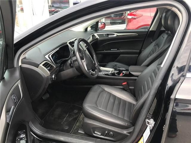 2016 Ford Fusion SE (Stk: N19294AA) in Hamilton - Image 9 of 12