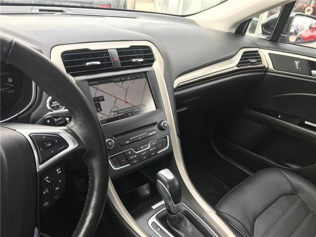 2016 Ford Fusion SE (Stk: N19294AA) in Hamilton - Image 11 of 12