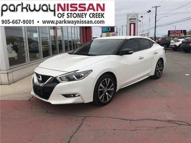 2016 Nissan Maxima SV (Stk: N1462) in Hamilton - Image 1 of 12