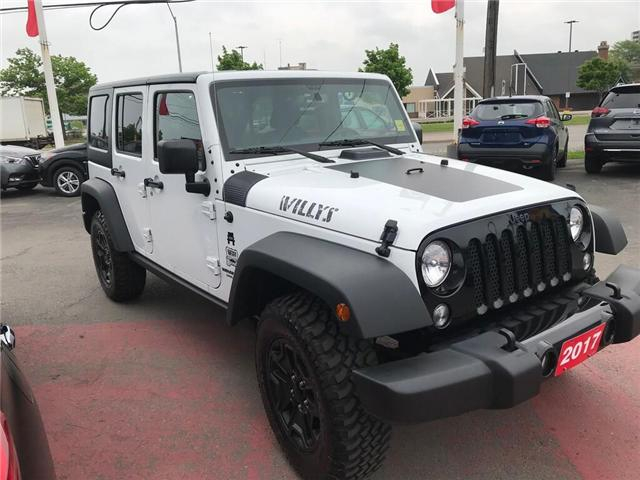 2017 Jeep Wrangler Unlimited Sport (Stk: N19513A) in Hamilton - Image 6 of 12