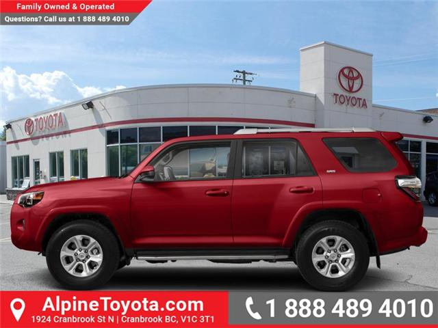 2019 Toyota 4Runner SR5 (Stk: 5709522) in Cranbrook - Image 1 of 1