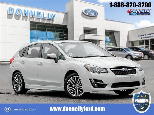2016 Subaru Impreza 2.0i Limited Package (Stk: PLDS179B) in Ottawa - Image 1 of 28