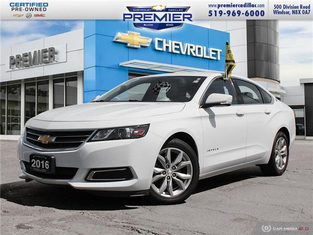 2016 Chevrolet Impala 2LT (Stk: 191617A) in Windsor - Image 1 of 27