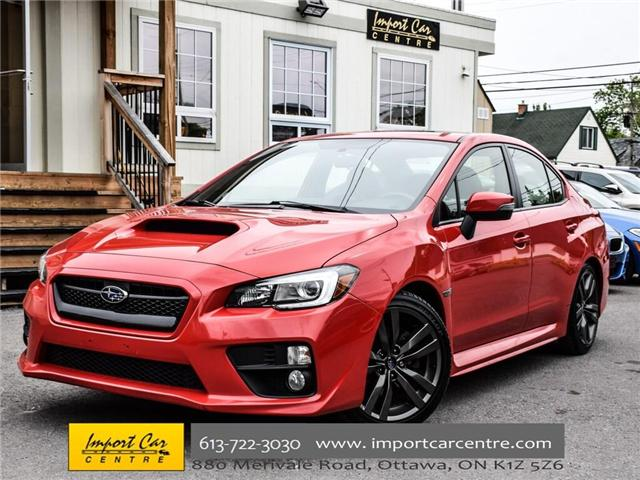 2016 Subaru WRX Sport-tech Package (Stk: 826261) in Ottawa - Image 1 of 29