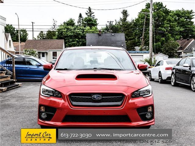2016 Subaru WRX Sport-tech Package (Stk: 826261) in Ottawa - Image 2 of 29