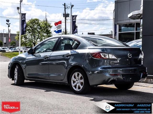 2013 Mazda Mazda3 GX (Stk: P1871) in Markham - Image 4 of 22