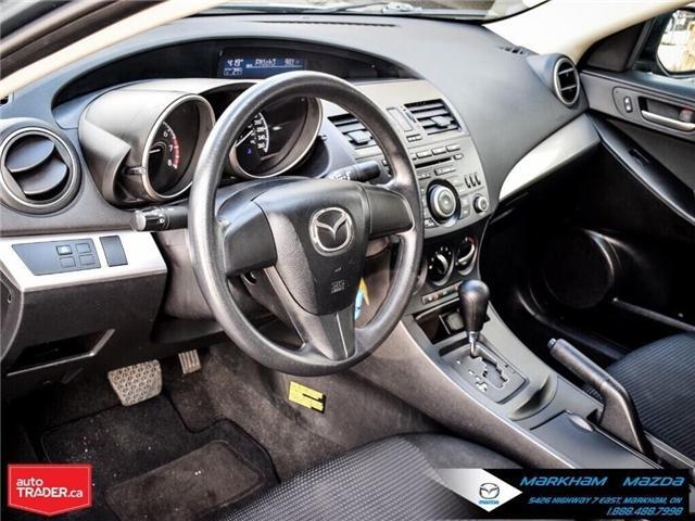 2013 Mazda Mazda3 GX (Stk: P1871) in Markham - Image 11 of 22