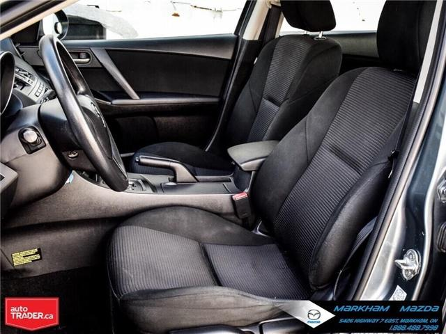 2013 Mazda Mazda3 GX (Stk: P1871) in Markham - Image 12 of 22