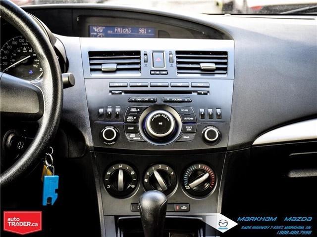 2013 Mazda Mazda3 GX (Stk: P1871) in Markham - Image 15 of 22