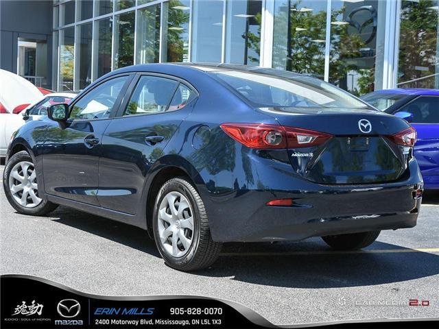 2018 Mazda Mazda3 GX (Stk: R0132) in Mississauga - Image 4 of 27