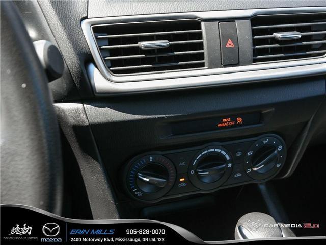 2018 Mazda Mazda3 GX (Stk: R0123) in Mississauga - Image 20 of 27