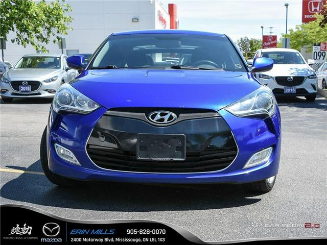 2013 Hyundai Veloster Base (Stk: 19-0599A) in Mississauga - Image 2 of 27