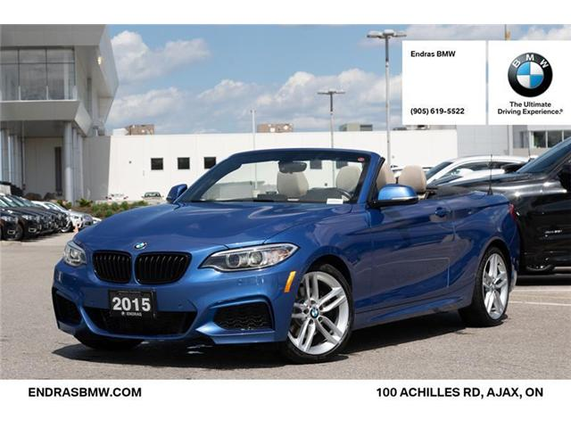 2015 BMW 228i xDrive (Stk: P5871) in Ajax - Image 1 of 20