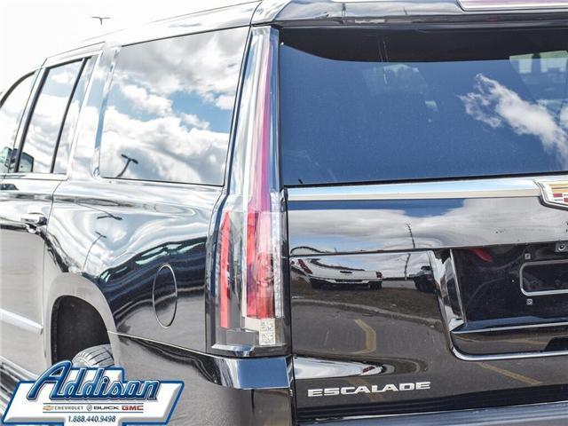 2019 Cadillac Escalade ESV Luxury (Stk: U117851) in Mississauga - Image 8 of 30