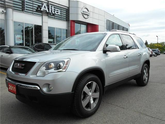 2011 GMC Acadia SLT (Stk: U10243A) in Woodbridge - Image 1 of 31