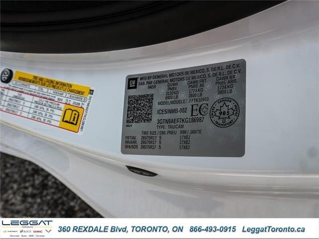 2019 GMC Sierra 1500 Base (Stk: 186987) in Etobicoke - Image 15 of 16