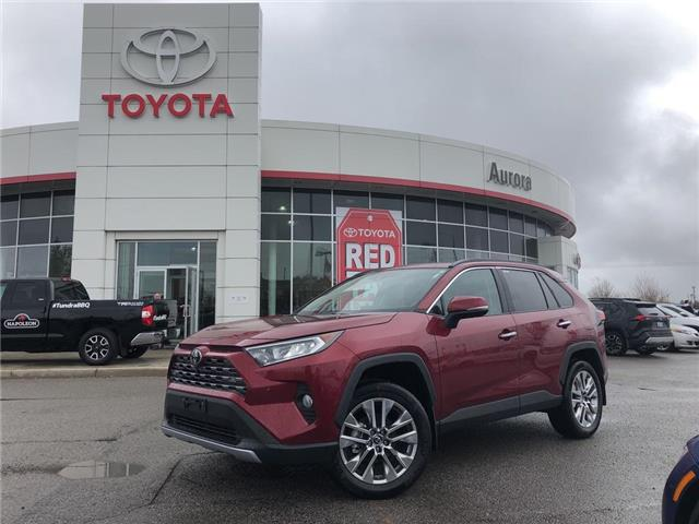 2019 Toyota RAV4 Limited (Stk: 30657) in Aurora - Image 1 of 15