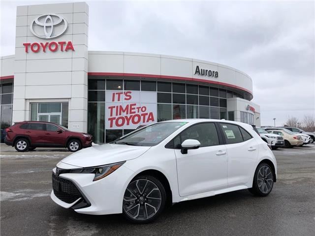 2019 Toyota Corolla Hatchback Base (Stk: 30726) in Aurora - Image 1 of 16