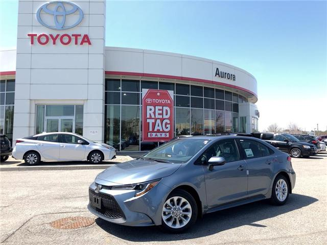 2020 Toyota Corolla LE (Stk: 30870) in Aurora - Image 1 of 15