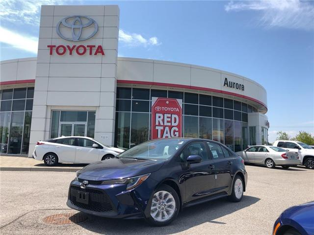 2020 Toyota Corolla LE (Stk: 30901) in Aurora - Image 1 of 15