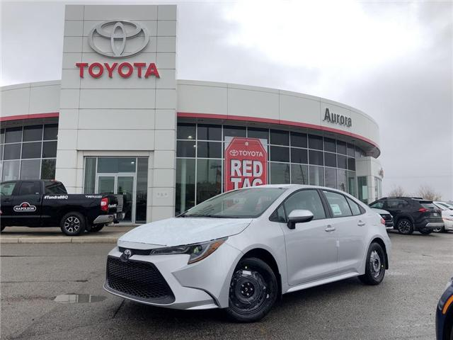 2020 Toyota Corolla LE (Stk: 30912) in Aurora - Image 1 of 15