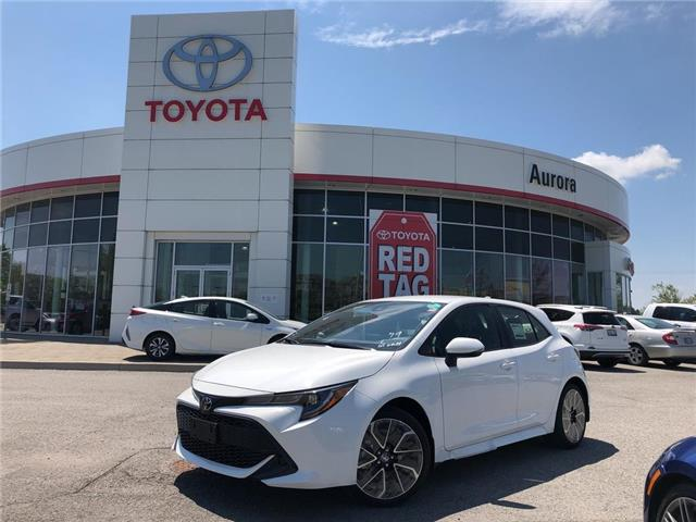 2019 Toyota Corolla Hatchback Base (Stk: 30936) in Aurora - Image 1 of 15