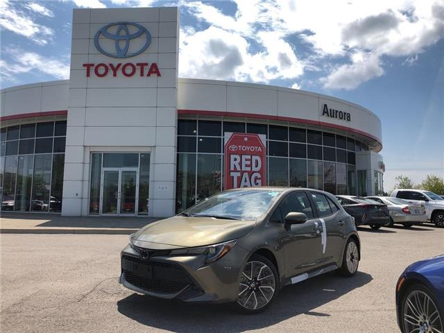 2019 Toyota Corolla Hatchback Base (Stk: 30943) in Aurora - Image 1 of 15