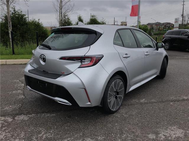 2019 Toyota Corolla Hatchback Base (Stk: 30988) in Aurora - Image 3 of 15