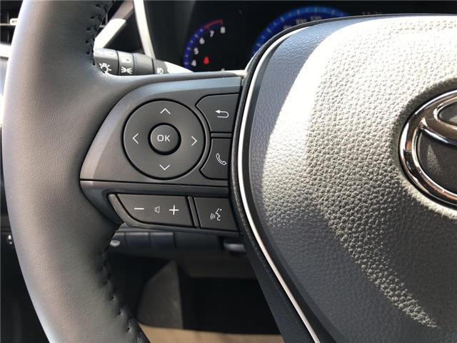 2019 Toyota Corolla Hatchback Base (Stk: 30990) in Aurora - Image 10 of 16