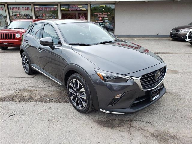 2019 Mazda CX-3 GT | HUD | NAVI | LEATHER | SUNROOF | BLIND SPOT (Stk: P12245) in Oakville - Image 2 of 24