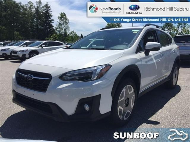 2019 Subaru Crosstrek Limited CVT w/EyeSight Pkg (Stk: 32801) in RICHMOND HILL - Image 1 of 22