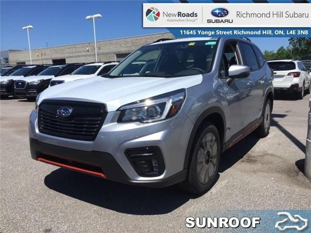 2019 Subaru Forester Sport Eyesight CVT (Stk: 32723) in RICHMOND HILL - Image 1 of 20