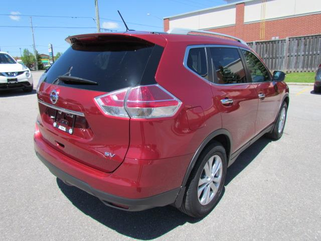 2016 Nissan Rogue SV (Stk: RU2687) in Richmond Hill - Image 7 of 43