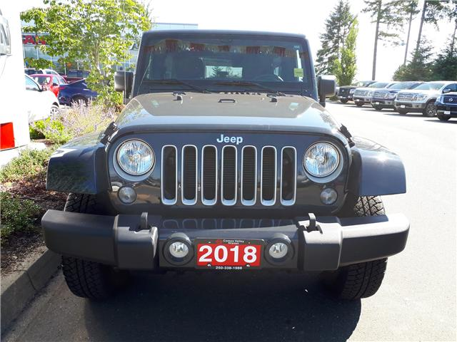 2018 Jeep Wrangler JK Unlimited 24G (Stk: P0100) in Courtenay - Image 2 of 9