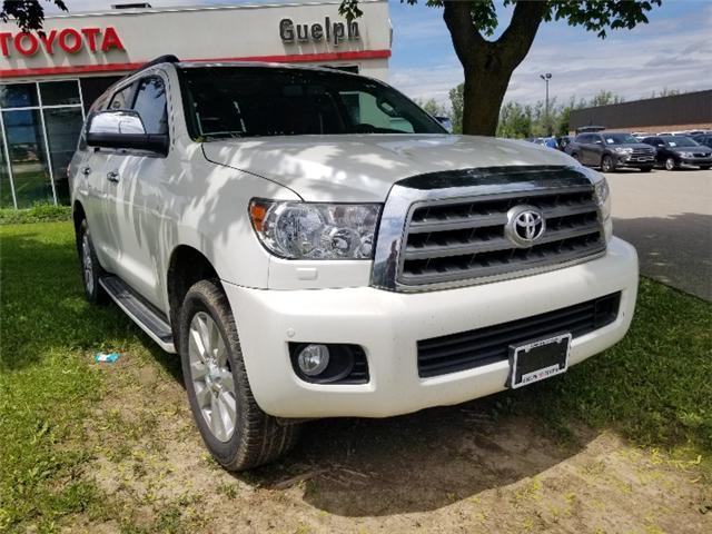 2017 Toyota Sequoia Platinum 5.7L V8 (Stk: U01195) in Guelph - Image 2 of 30