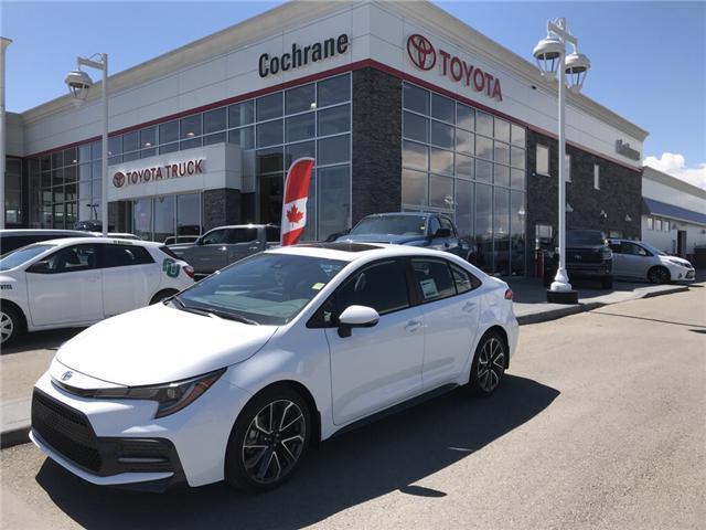 2020 Toyota Corolla SE (Stk: 200025) in Cochrane - Image 1 of 14