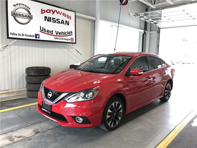 2016 Nissan Sentra 1.8 SR (Stk: P0676) in Owen Sound - Image 1 of 11