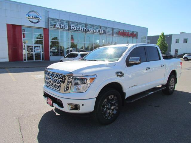 2017 Nissan Titan Platinum Reserve (Stk: RY19M024AA) in Richmond Hill - Image 1 of 42