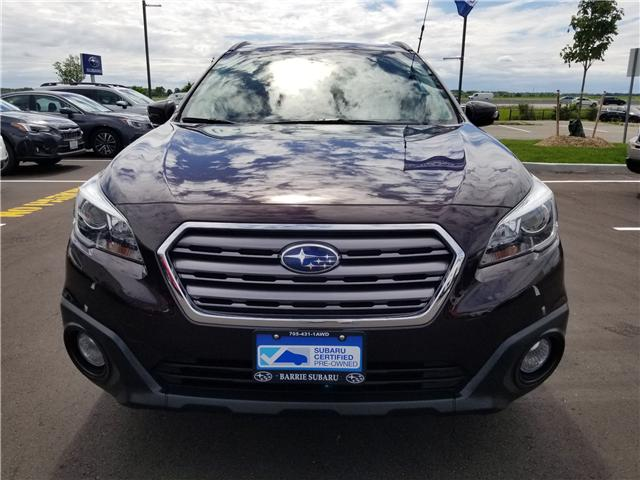 2017 Subaru Outback 3.6R Touring (Stk: 19SB603A) in Innisfil - Image 2 of 18