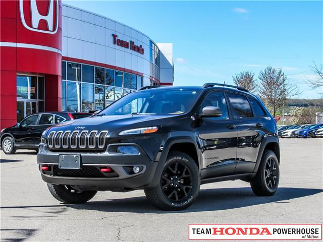 2015 Jeep Cherokee Trailhawk (Stk: 19663A) in Milton - Image 1 of 23