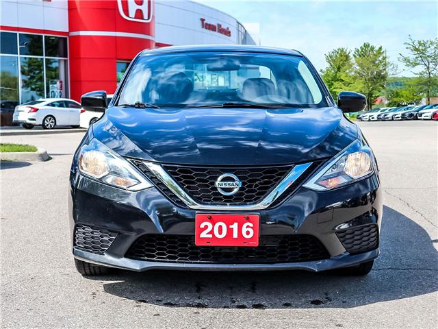 2016 Nissan Sentra 1.8 S (Stk: 3281AA) in Milton - Image 2 of 24